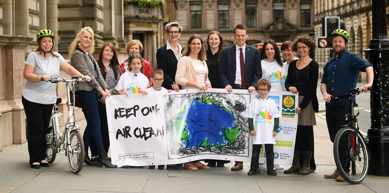 Glasgow Clean Air Day Launch