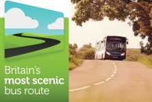 Britains most scenic bus route