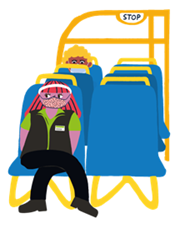 OnTram-Facemask-Covid-19_Covid-19 - On tram 19wearing face1 mask _png_