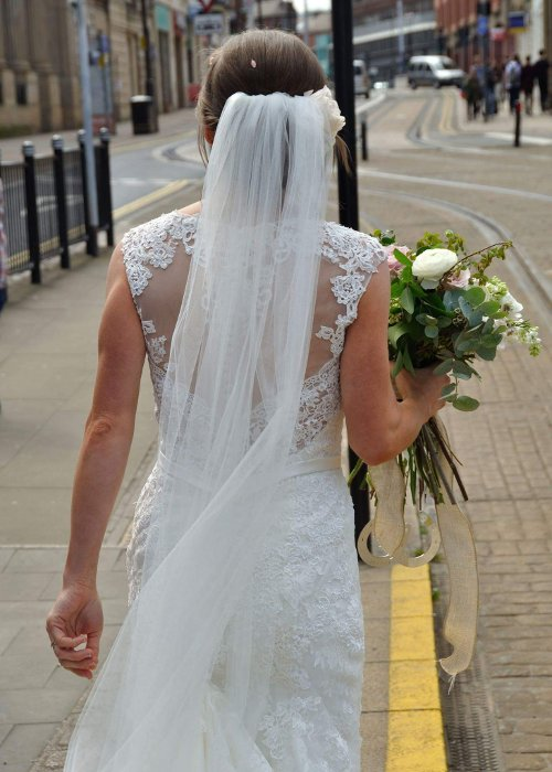 Wedding tram bride